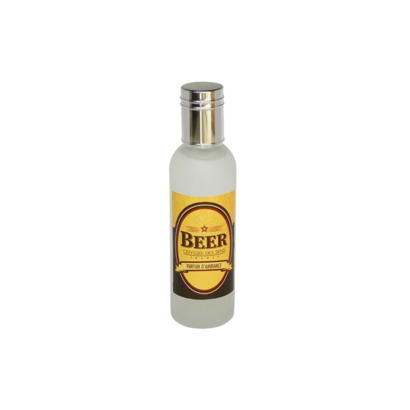 Parfum d'ambiance 100 Ml - Flacon en verre dépoli - Parfum Beer