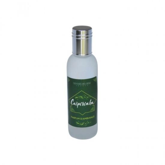 Parfum d'ambiance 100 Ml - Flacon en verre dépoli - Parfum Caïpirinha