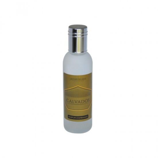 Parfum d'ambiance 100 Ml - Flacon en verre dépoli - Parfum Calvados