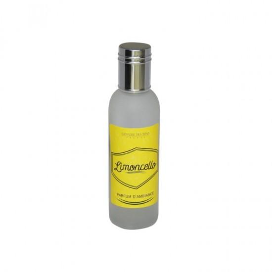 Parfum d'ambiance 100 Ml - Flacon en verre dépoli - Parfum Limoncello