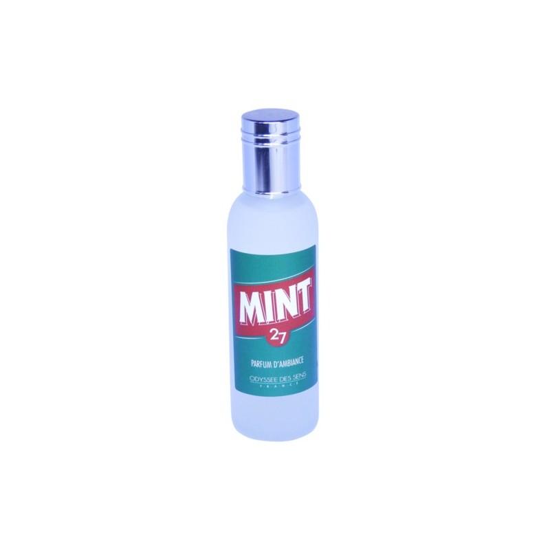 Parfum d'ambiance 100 Ml - Flacon en verre dépoli - Parfum Mint 27