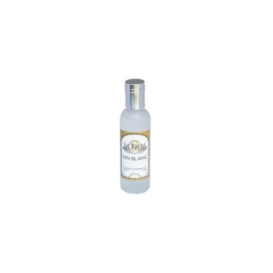 Parfum d'ambiance 100 Ml - Flacon en verre dépoli - Parfum Vin Blanc
