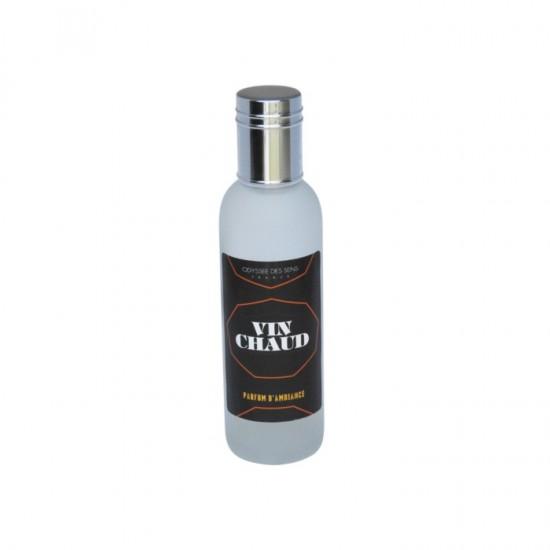 Parfum d'ambiance 100 Ml - Flacon en verre dépoli - Parfum Vin Chaud