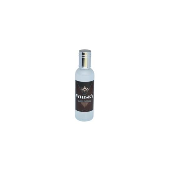 Parfum d'ambiance 100 Ml - Flacon en verre dépoli - Parfum Whisky