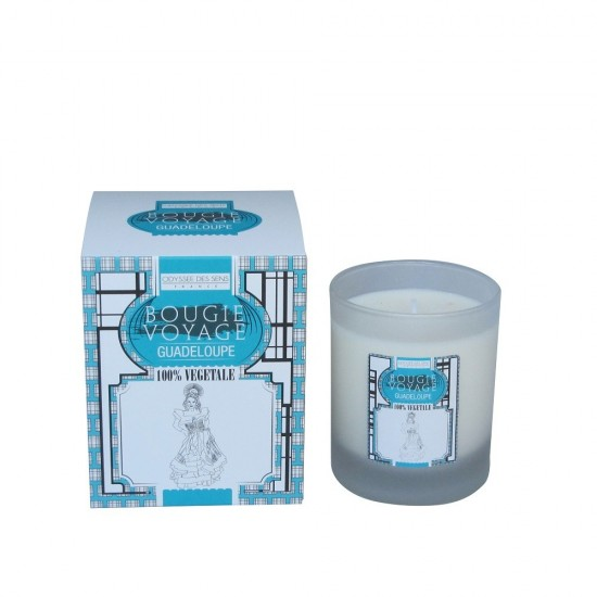 Bougie voyage 180G Guadeloupe