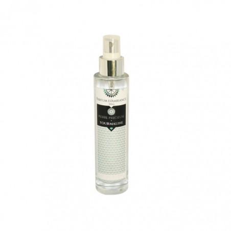 Parfum d'ambiance 100 ml Tourmaline collection Pierres précieuses en flacon Verre
