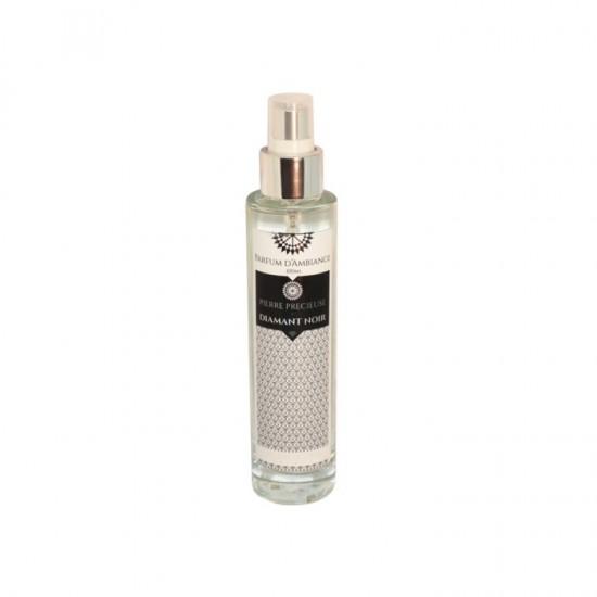 Parfum d'ambiance 100 ml Diamant Noir collection Pierres précieuses en flacon Verre