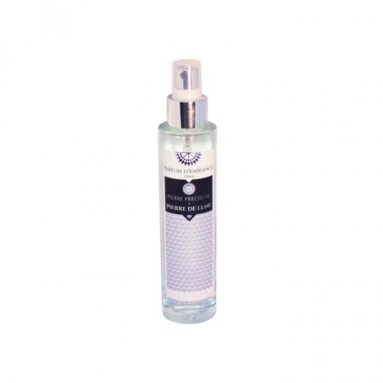 Parfum d'ambiance 100 ml PIerre de Lune collection Pierres précieuses en flacon Verre