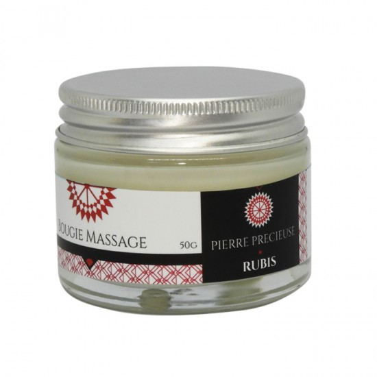 Bougie de Massage 30gr Rubis