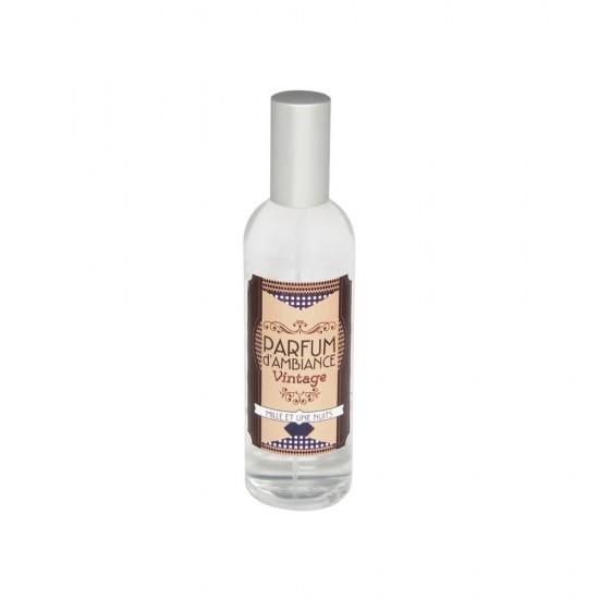Parfum d'ambiance 100 ml collection Vintage flacon en verre