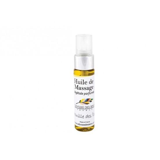 Huile de massage parfumée 30 Ml - Vanille des îles