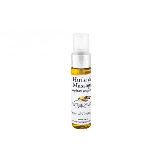 Huile de massage parfumée 30 Ml - Fleur d'oranger