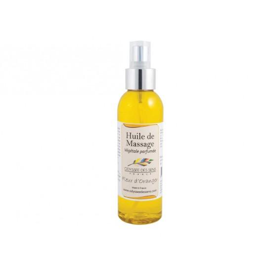 Huile de massage parfumée 150 Ml - Fleur d'oranger