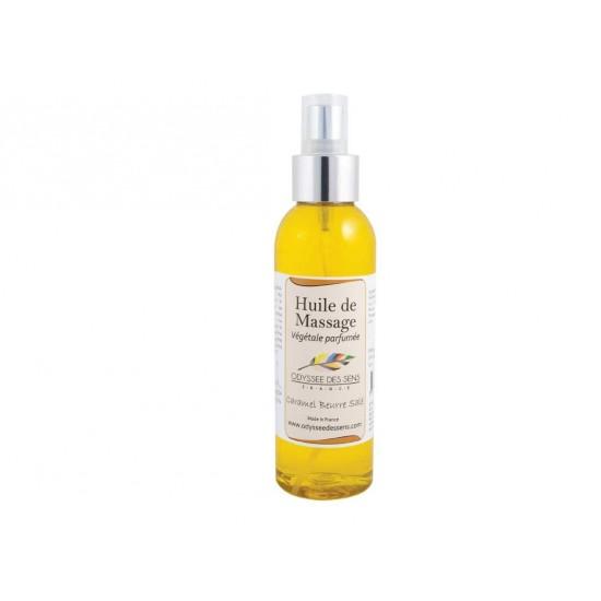 Huile de massage parfumée 150 Ml - Caramel beurre salé