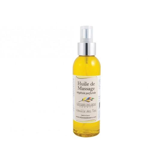 Huile de massage parfumée 150 Ml - Vanille des îles