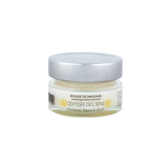 Bougies de massage 40 G - Caramel beurre salé