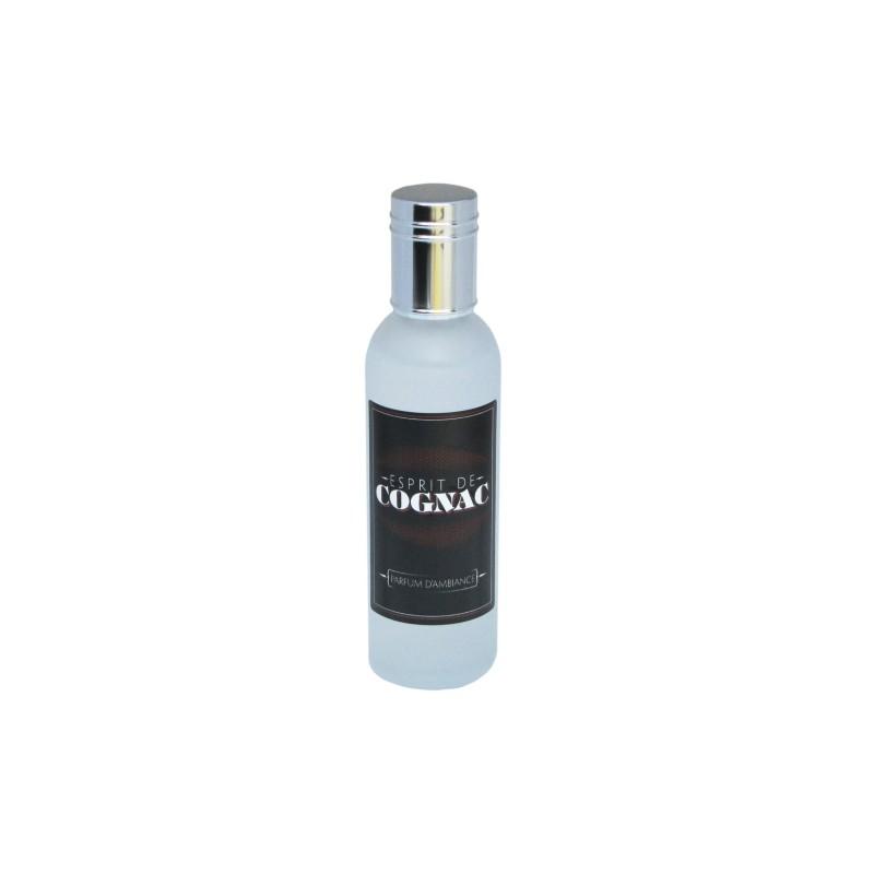 Parfum d'ambiance 100 Ml - Flacon en verre dépoli - Parfum Esprit de Cognac