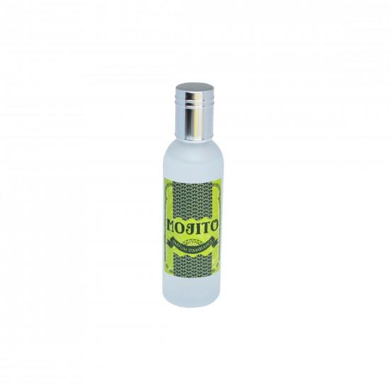 Parfum d'ambiance 100 Ml - Flacon en verre dépoli - Parfum Mojito