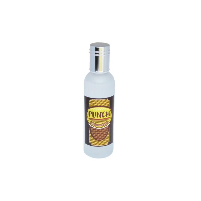 Parfum d'ambiance 100 Ml - Flacon en verre dépoli - Parfum Punch des Iles