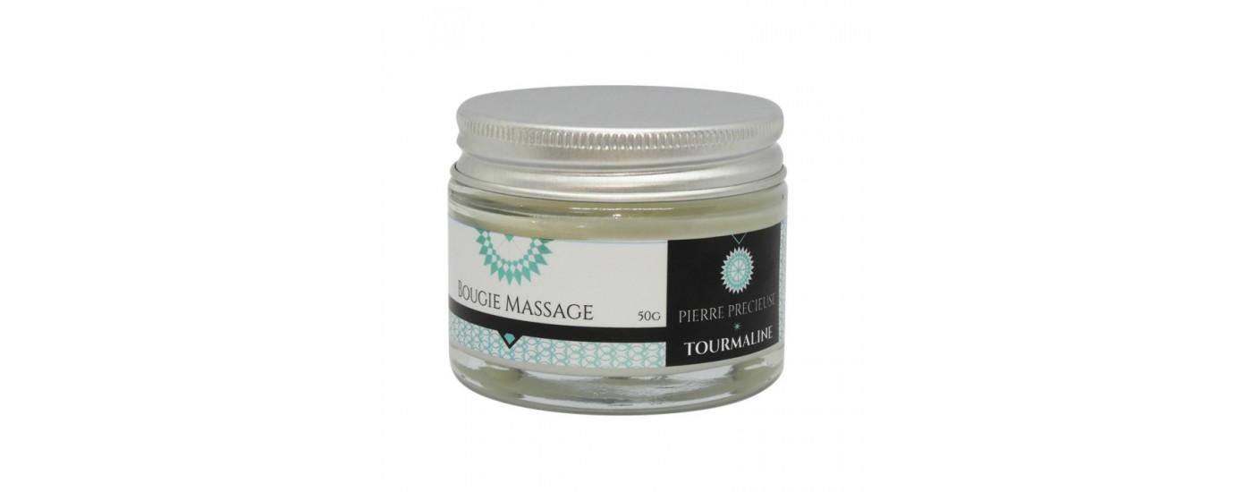 Bougies de Massage Collection Pierres Précieuses